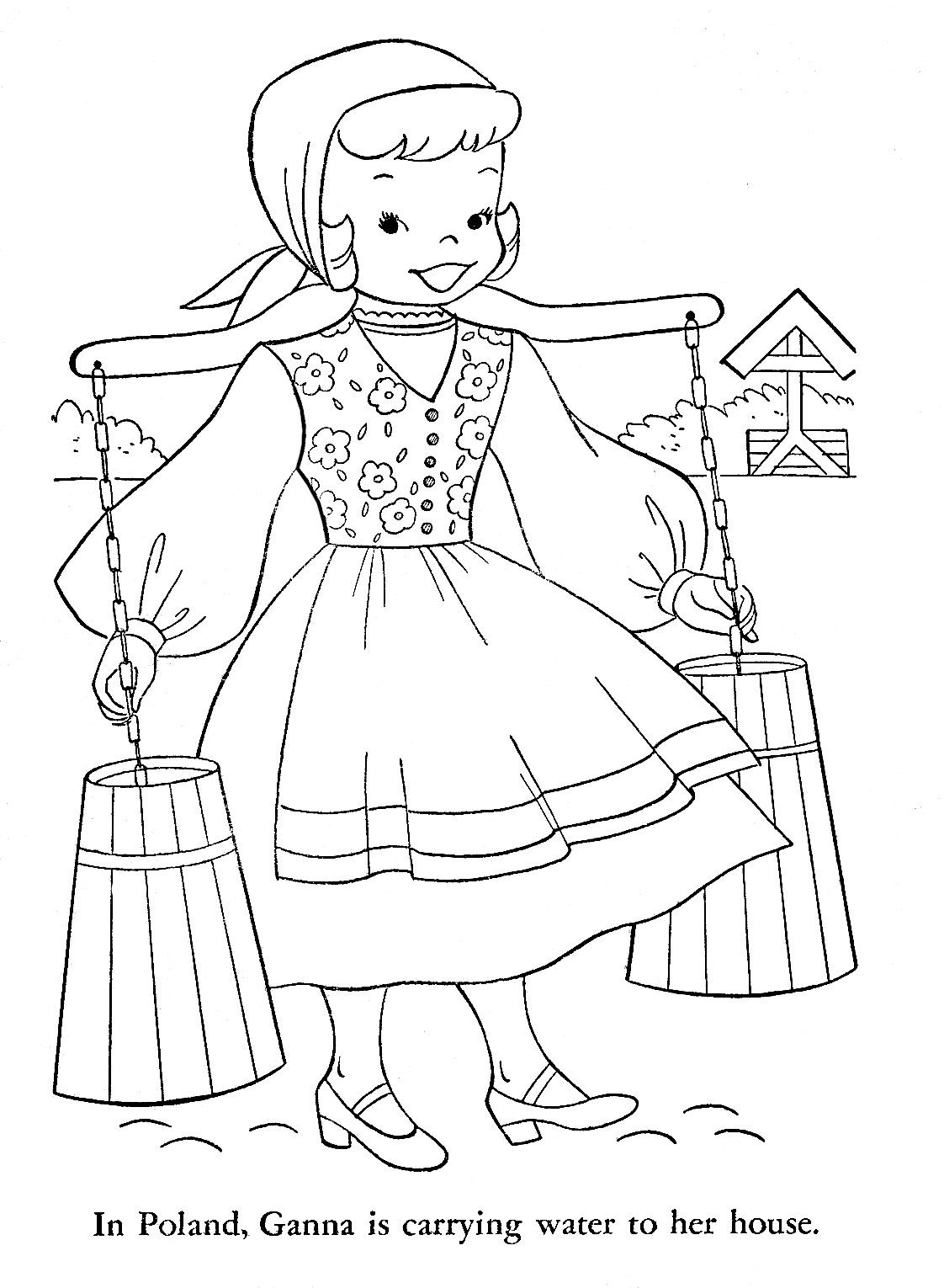 Polish Coloring Pages At Getdrawings