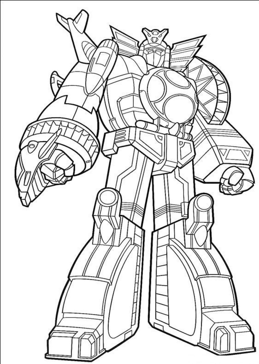 Power Rangers Dino Coloring Pages At Getdrawings