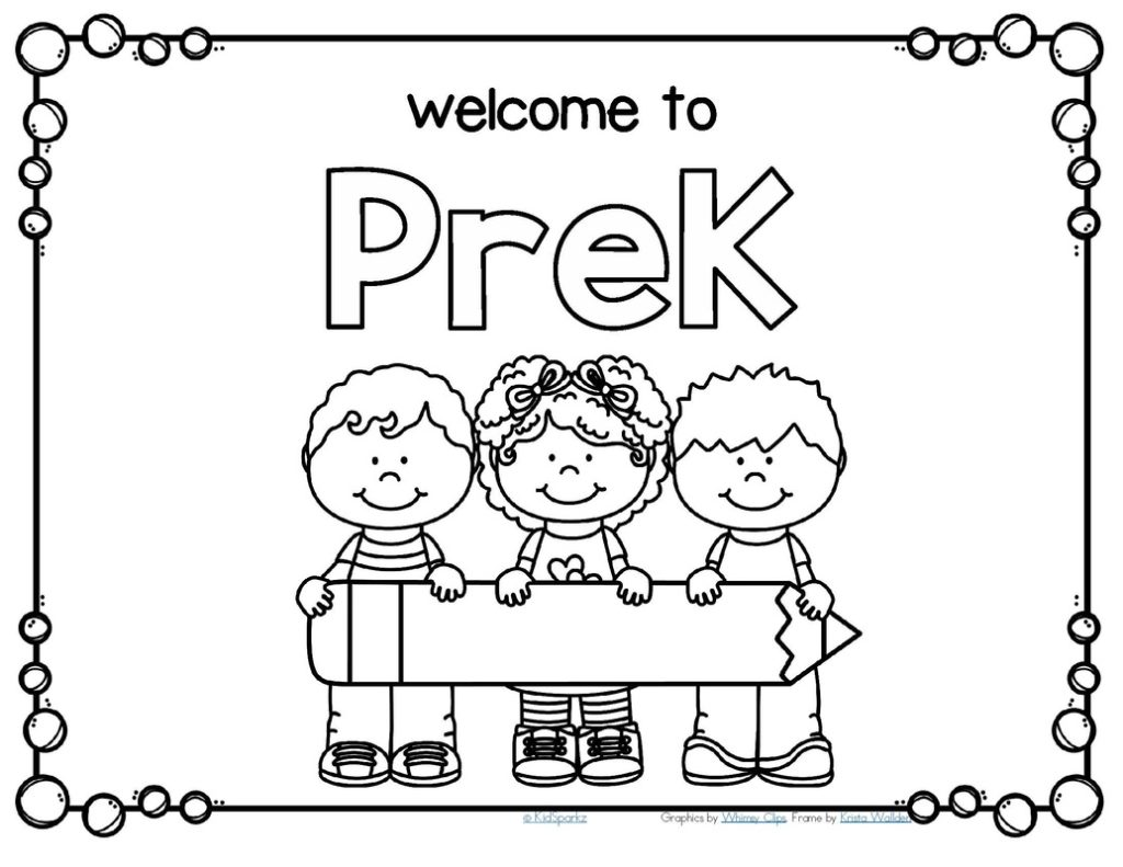 Pre K Graduation Coloring Pages At Getdrawings