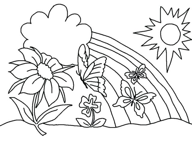 Easy Coloring Pages For Elderly