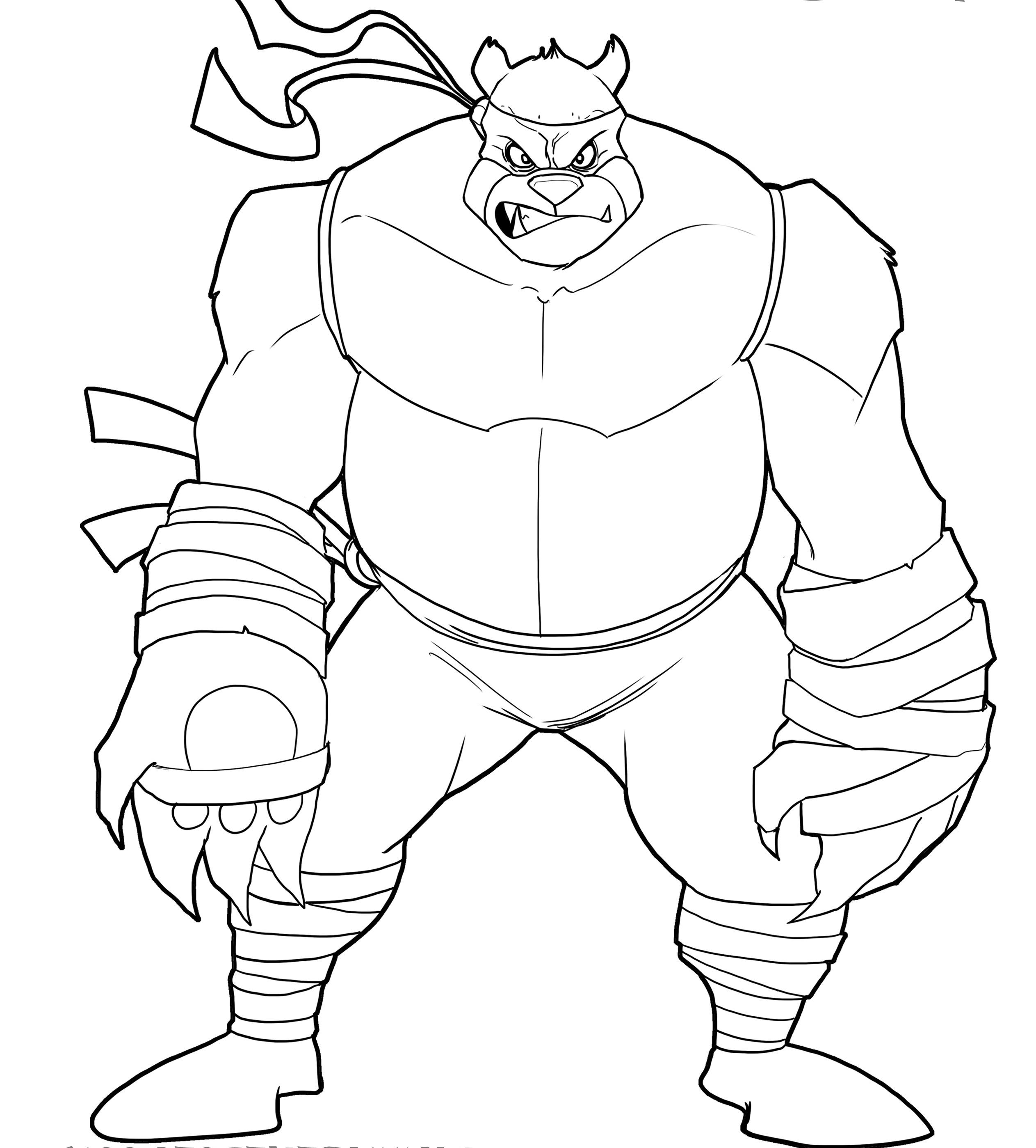 Ninja Turtle Raphael Drawing At Getdrawings