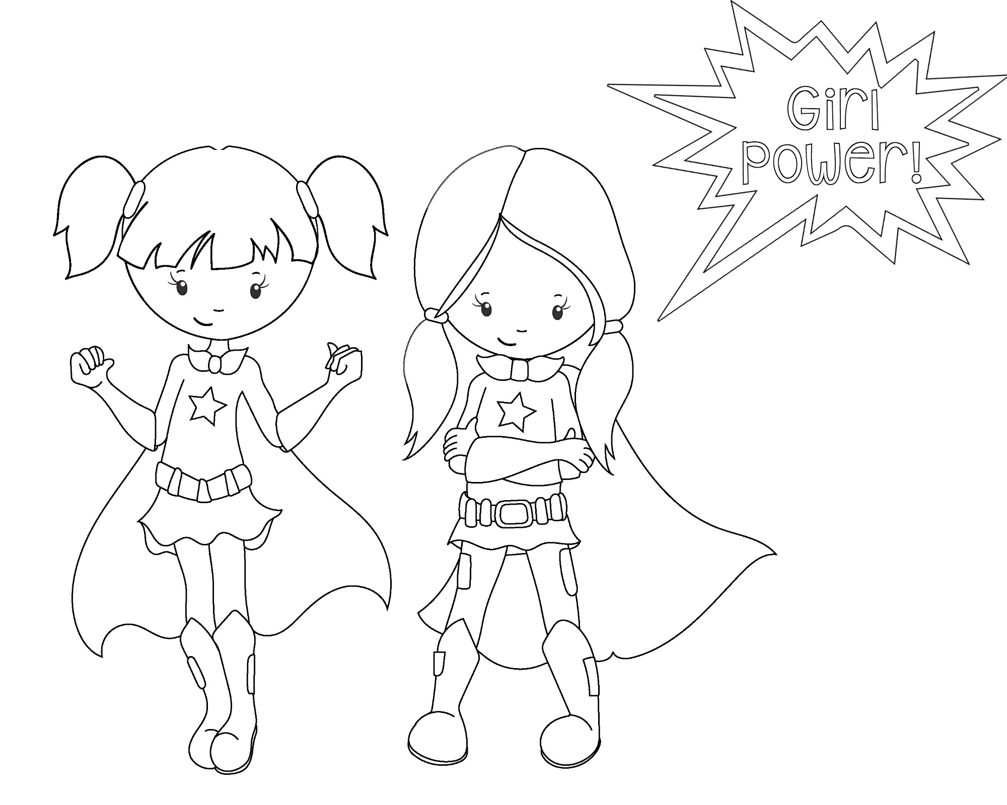 Printable Superhero Coloring Pages At Getdrawings