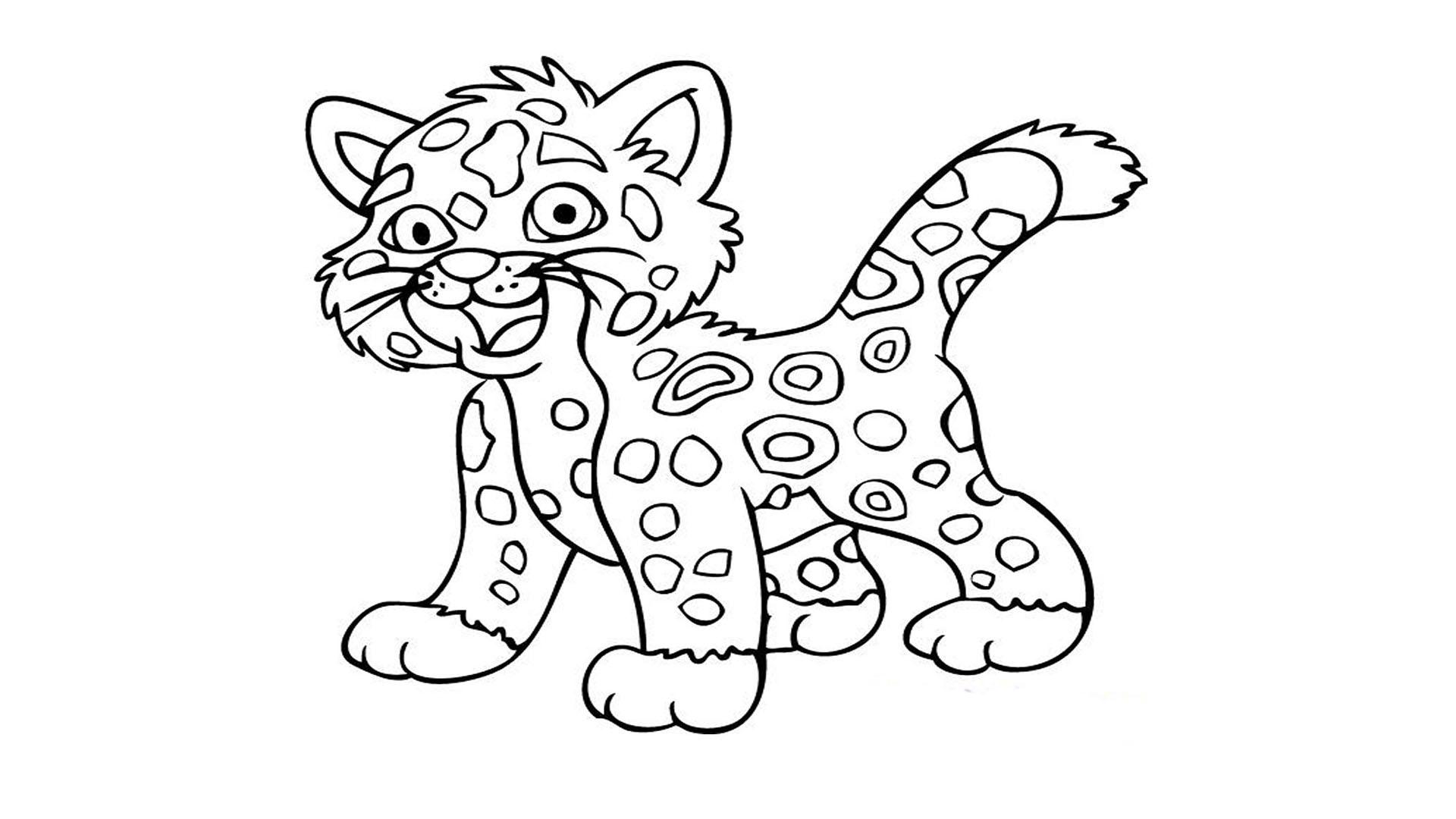 Printable Tiger Coloring Pages At Getdrawings