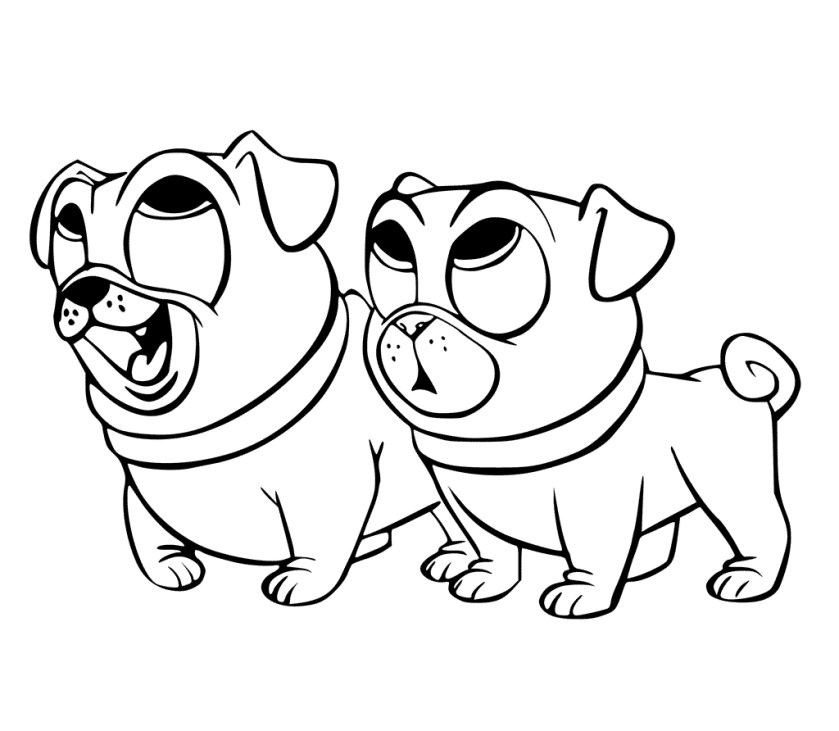 puppy pals coloring pages at getdrawings  free download