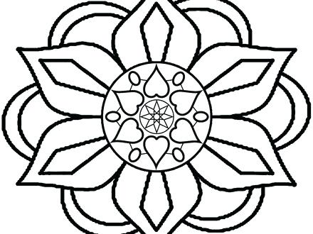 rangoli coloring pages # 63