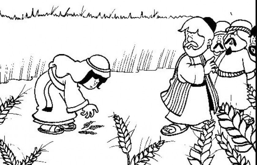 ruth and naomi coloring page at getdrawings  free download