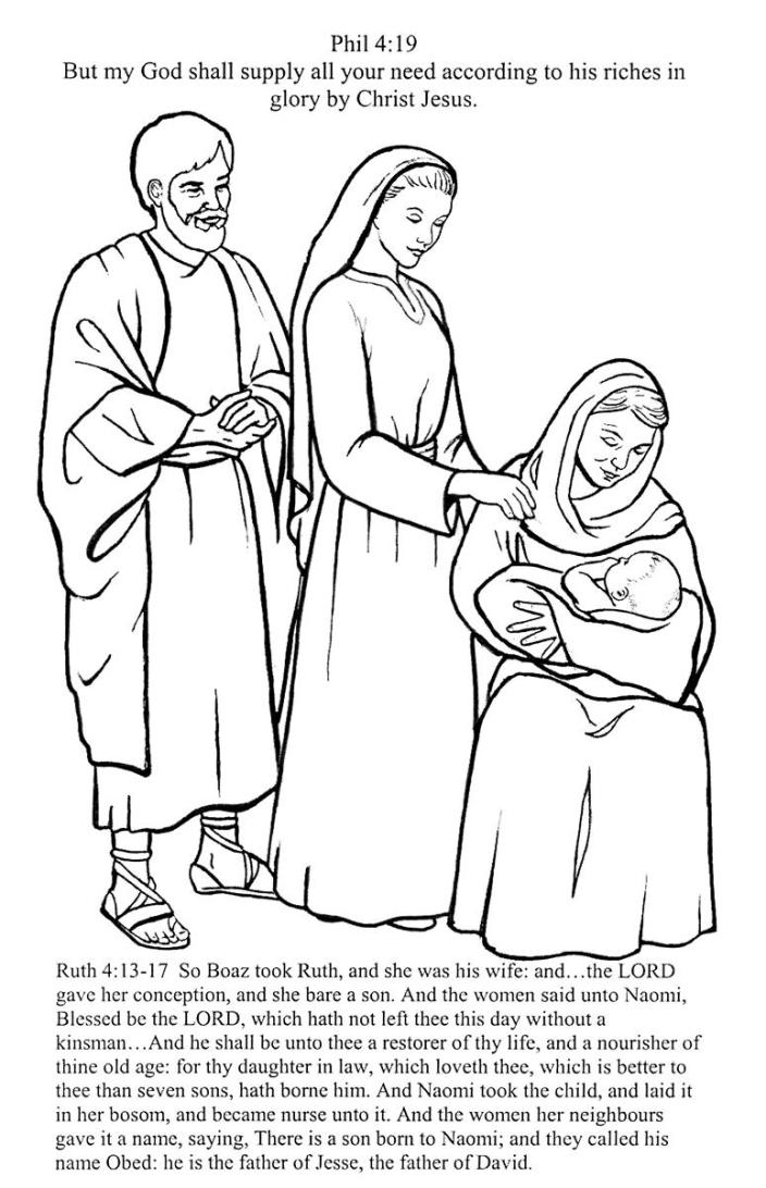 ruth coloring page at getdrawings  free download
