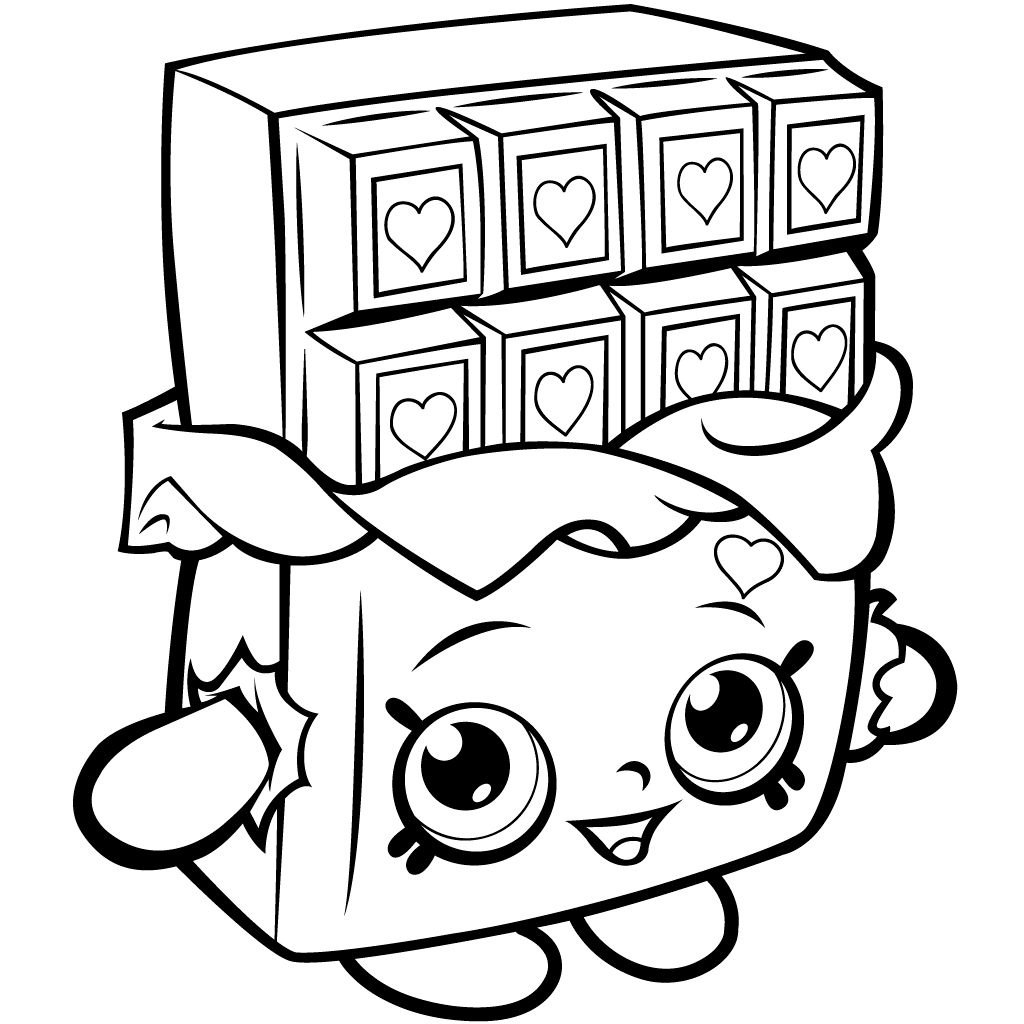 Shopkins Characters Wobbles Coloring Pages At Getdrawings