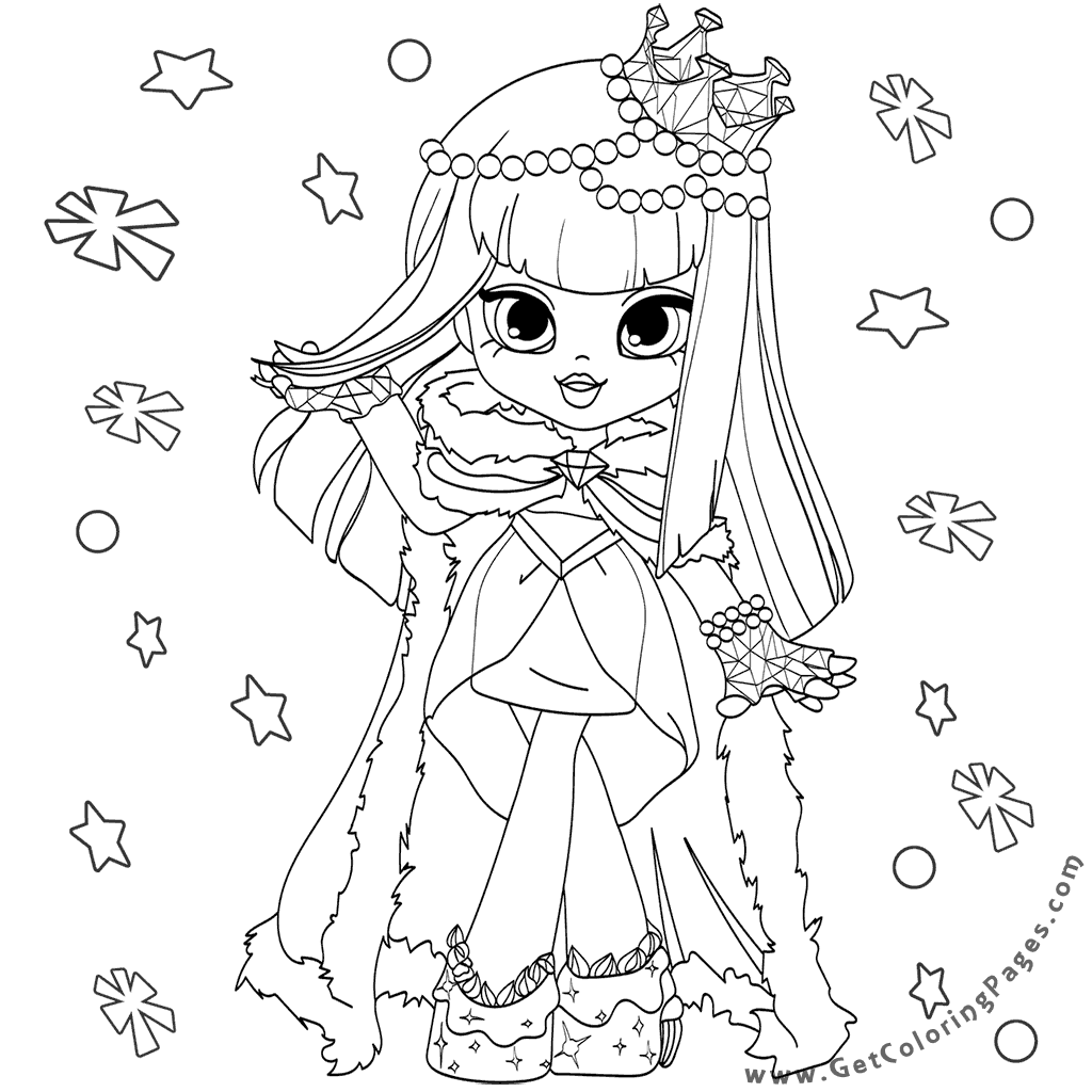 Bratz Dolls Coloring Pages At Getdrawings