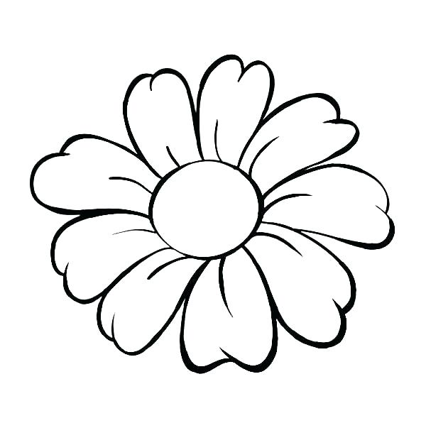 coloring pages flower # 67