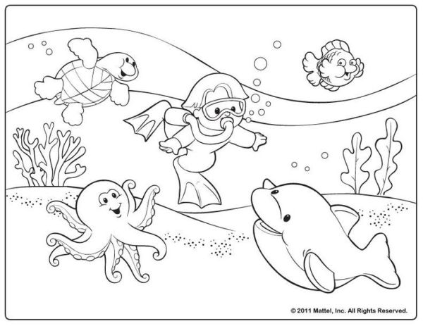summer coloring pages printable # 31