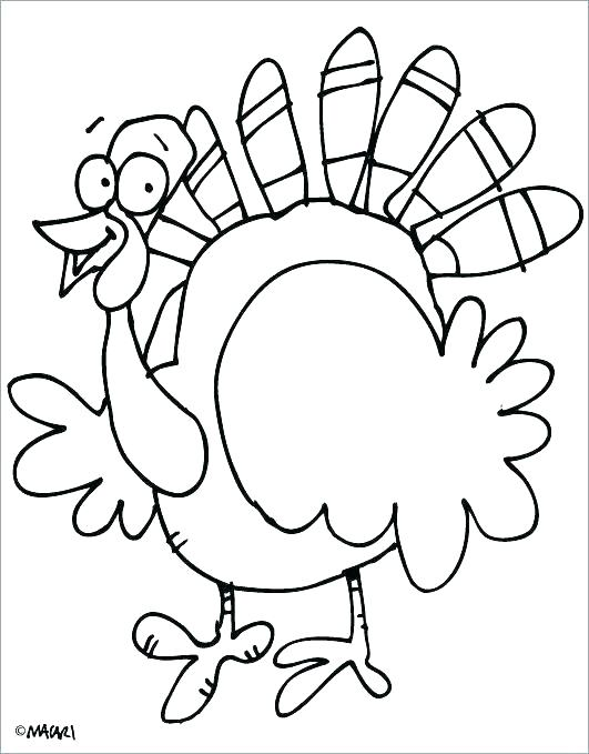 thanksgiving turkey coloring page # 41