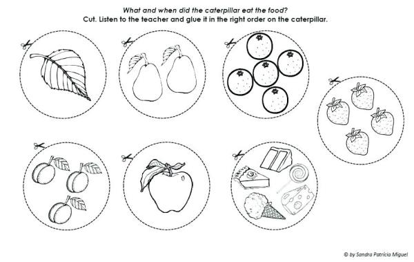 hungry caterpillar coloring pages # 51