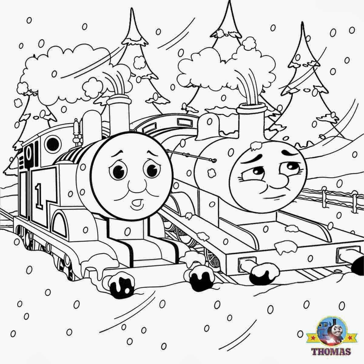 Thomas The Train Halloween Coloring Pages At Getdrawings