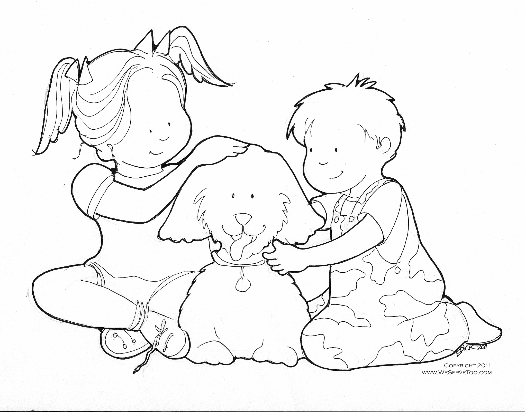 Touch Coloring Pages At Getdrawings