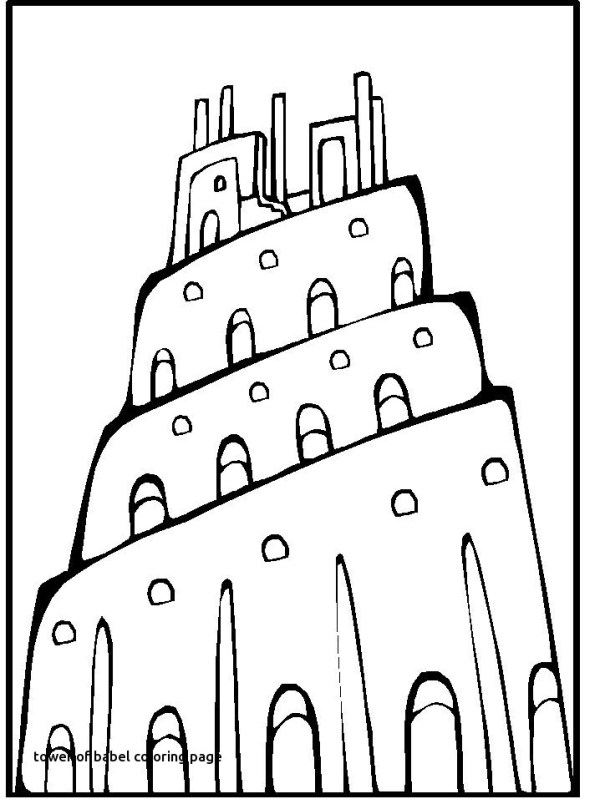 tower of babel coloring pages # 73