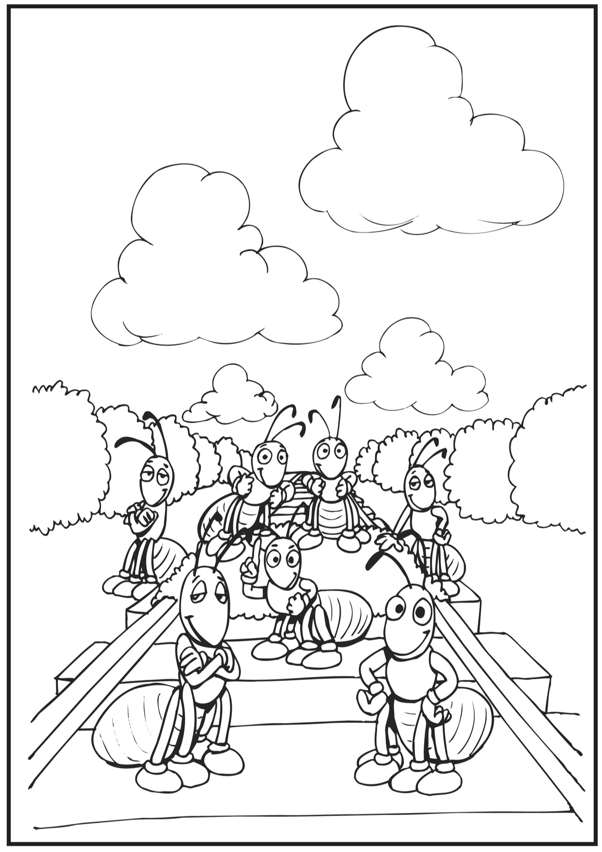 Train Track Coloring Page At Getdrawings