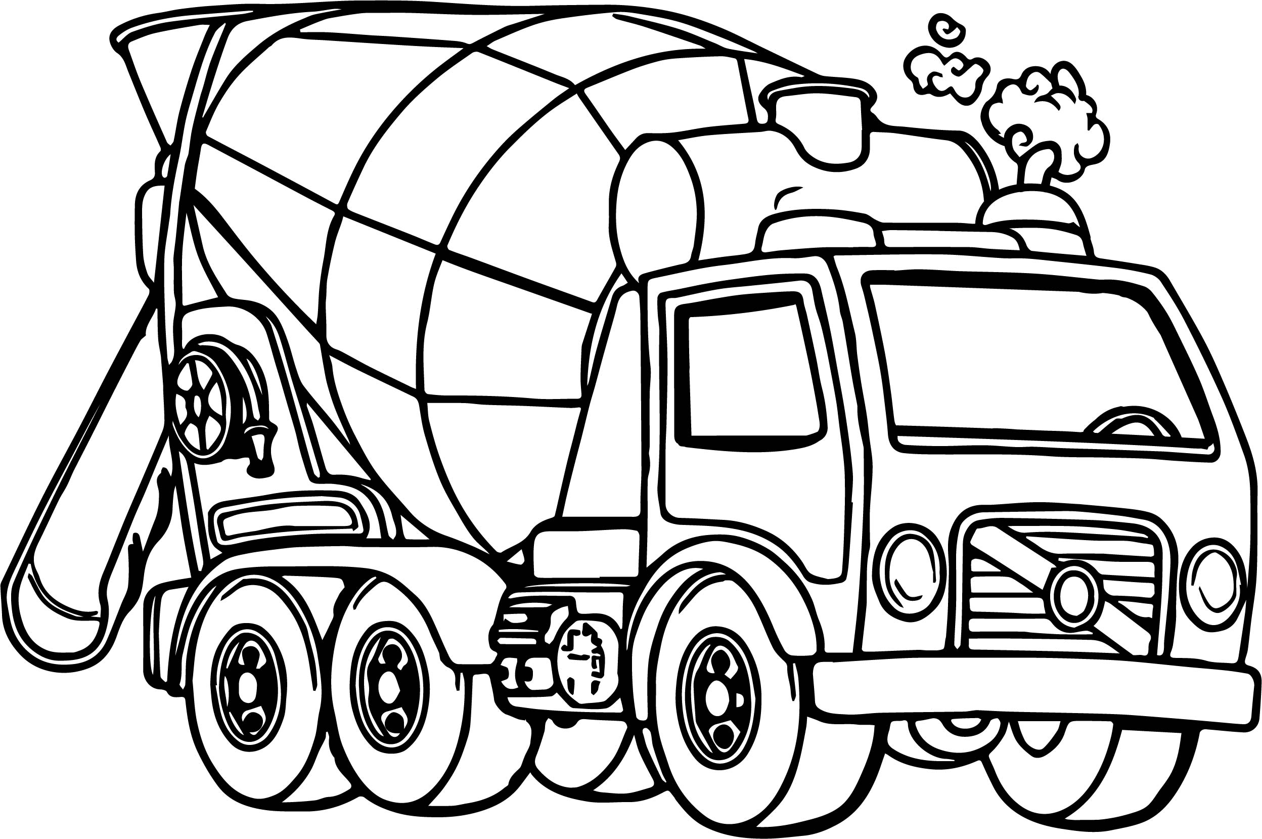 Truck Coloring Pages For Adults At Getdrawings
