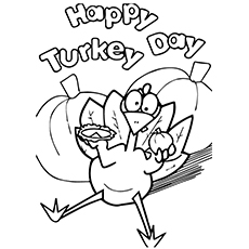 coloring pages turkey # 35