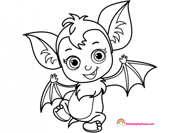 Vampirina And Friends Popular Easy Coloring Pages - On Log ...