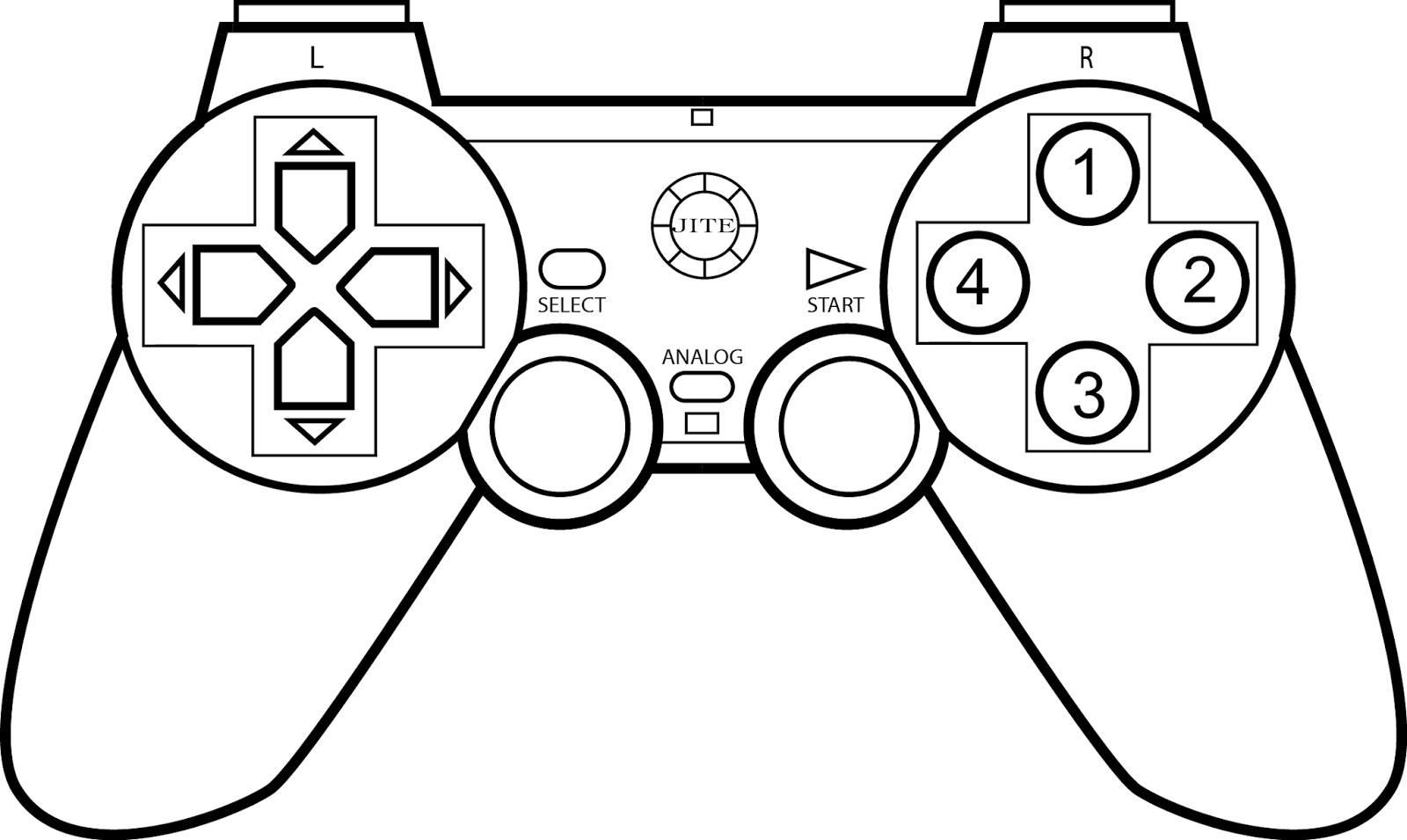 Xbox Coloring Pages At Getdrawings