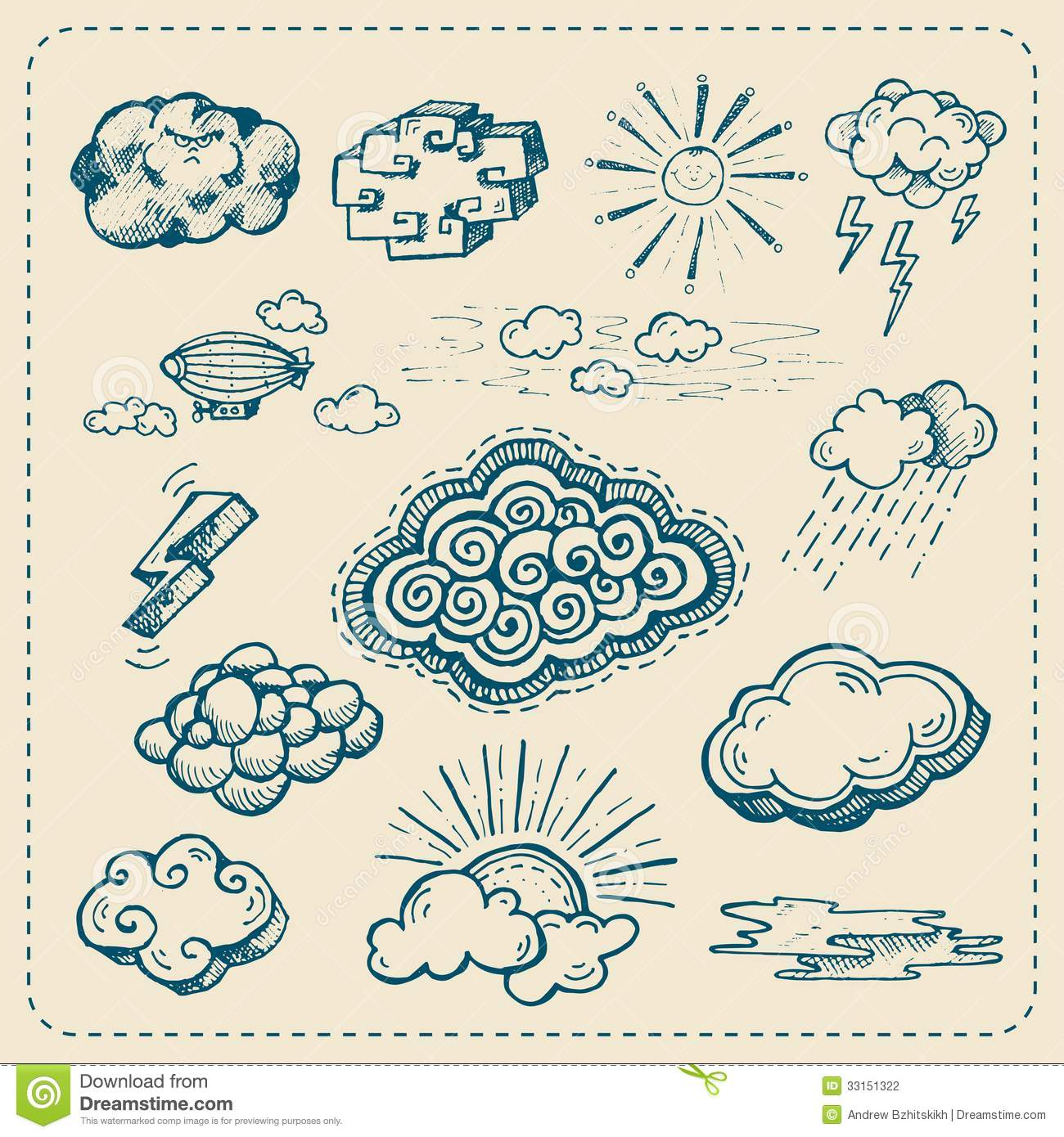 Cloud Drawing Images At Getdrawings