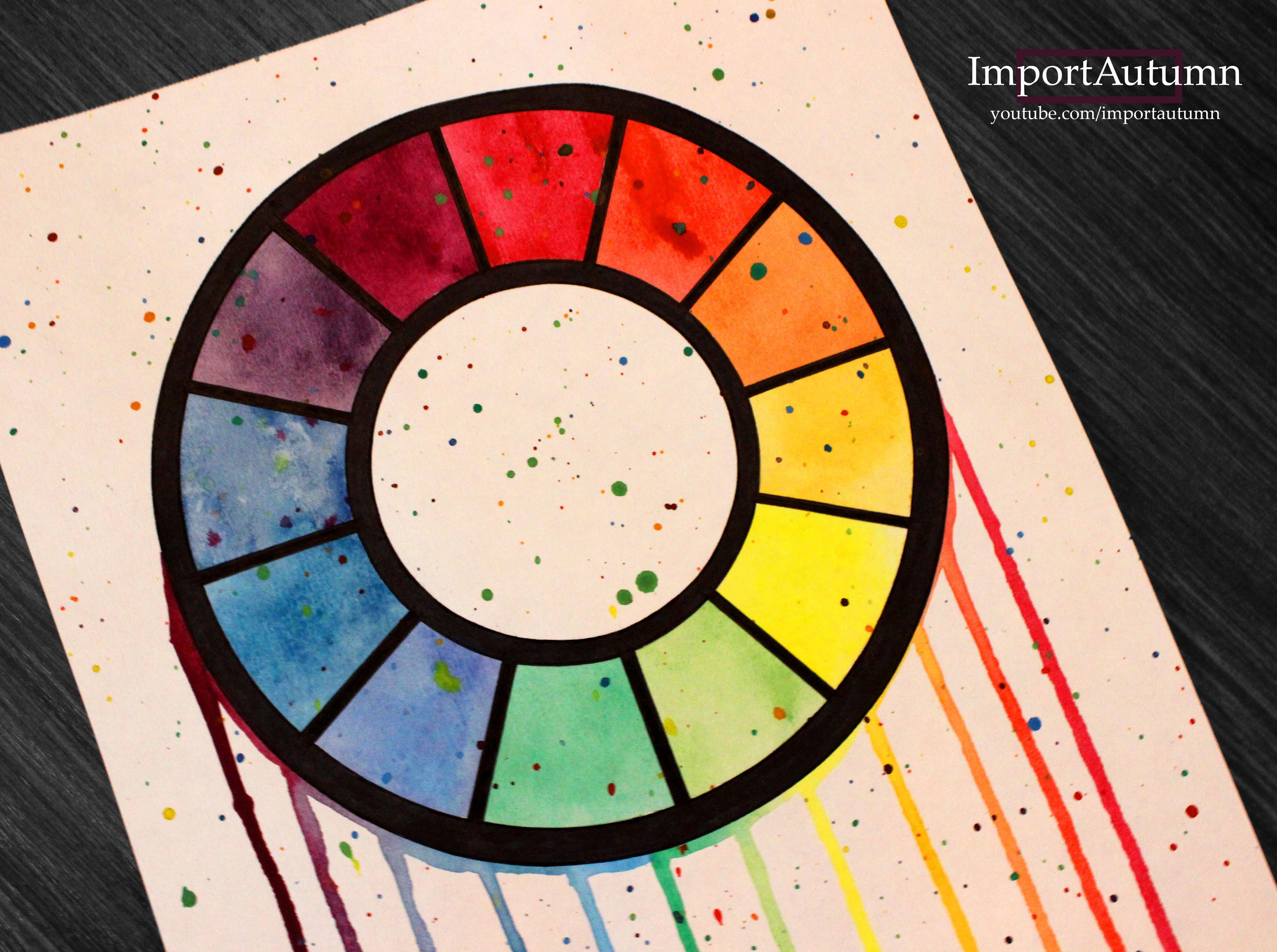 Color Wheel Drawing At Getdrawings