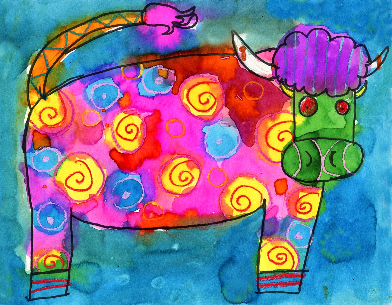 Cow Drawing For Kids At Getdrawings