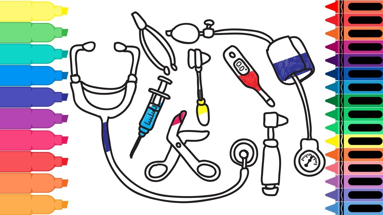Doctor Tools Drawing at GetDrawings | Free download (1280 x 720 Pixel)