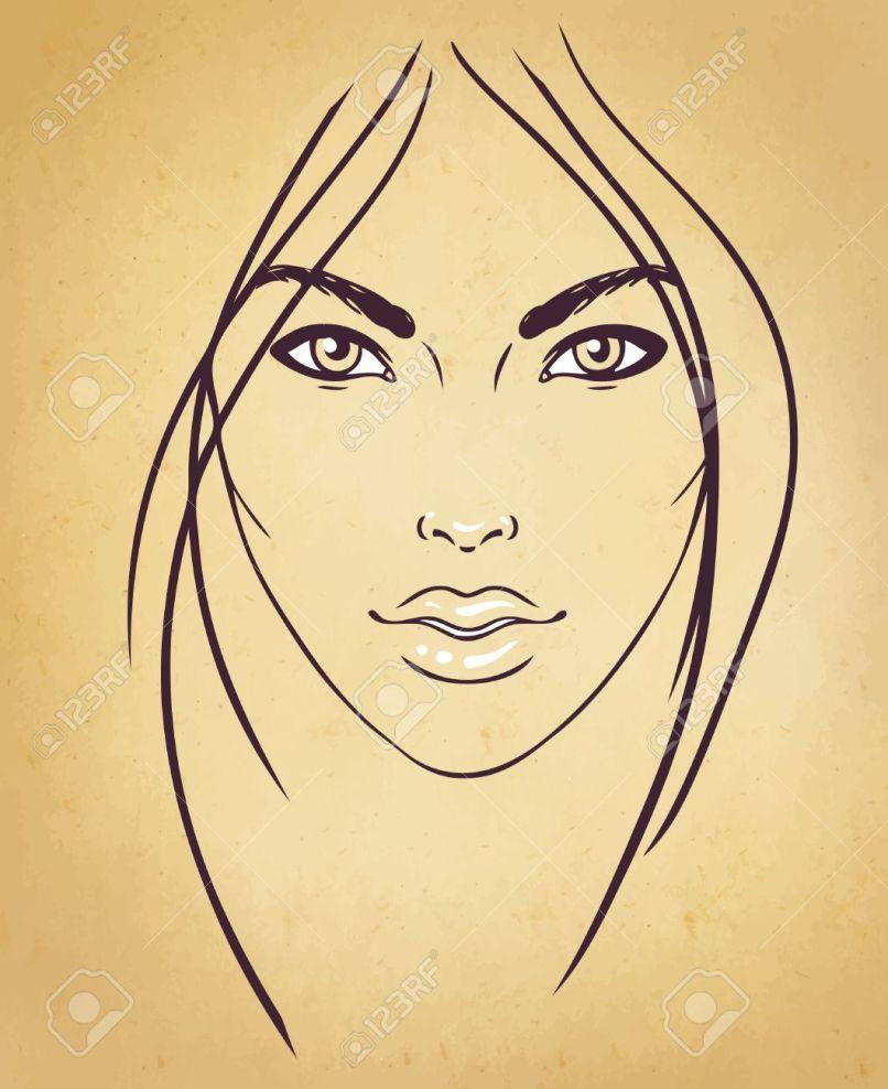Blank Face Template For Makeup Artist Kakaozzankco