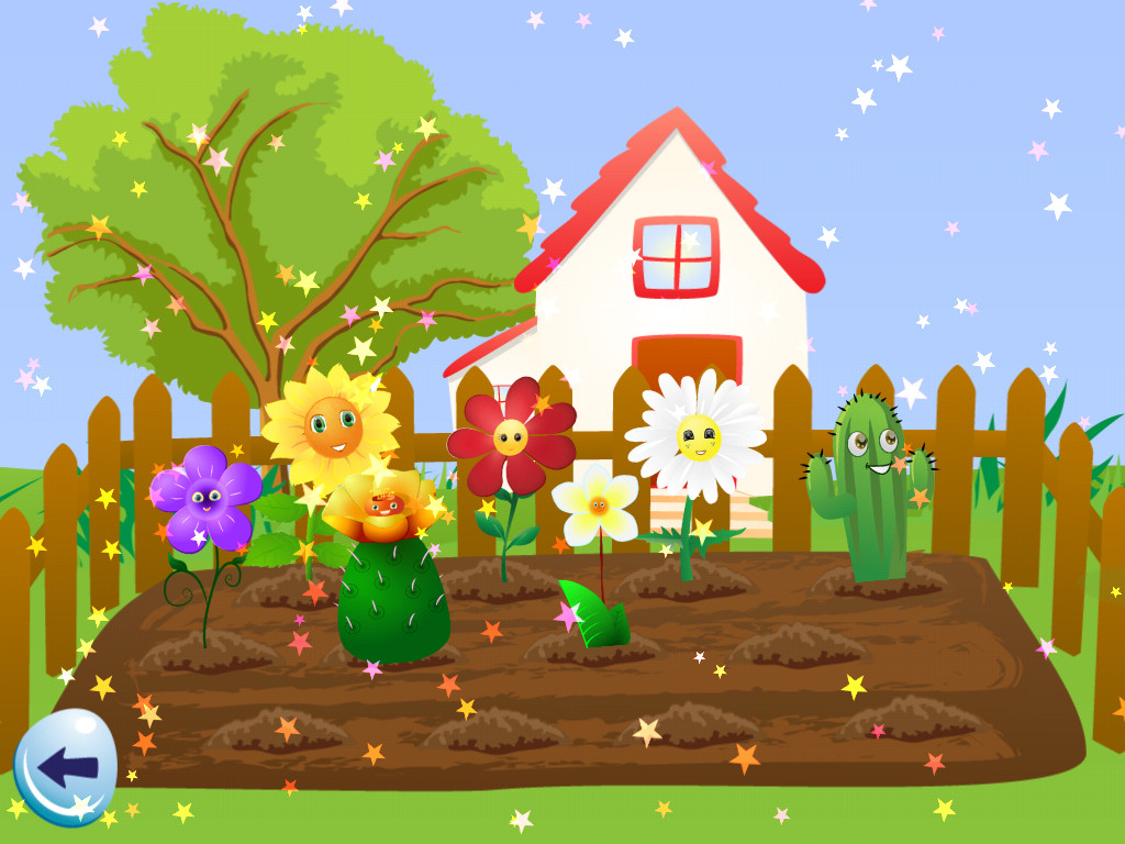 Garden Drawing Easy At Getdrawings