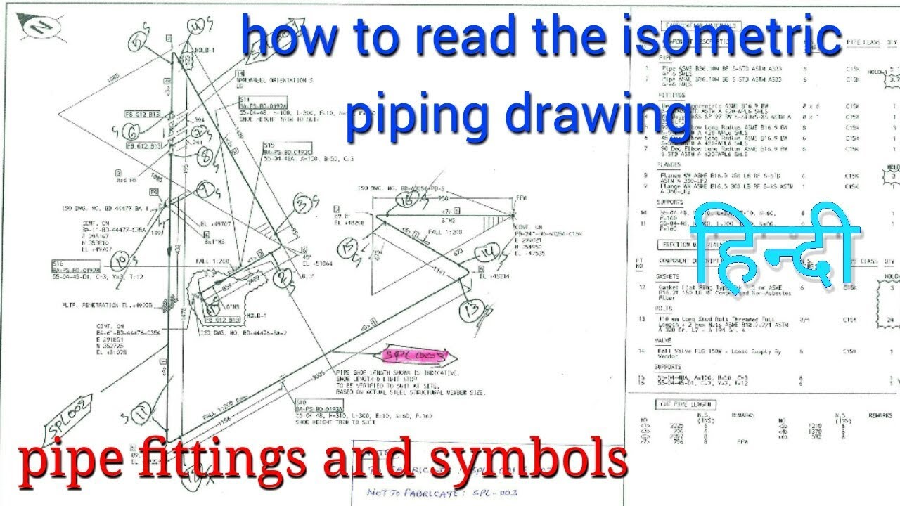 Isometric Drawings Plumbing Riser Diagram Piping