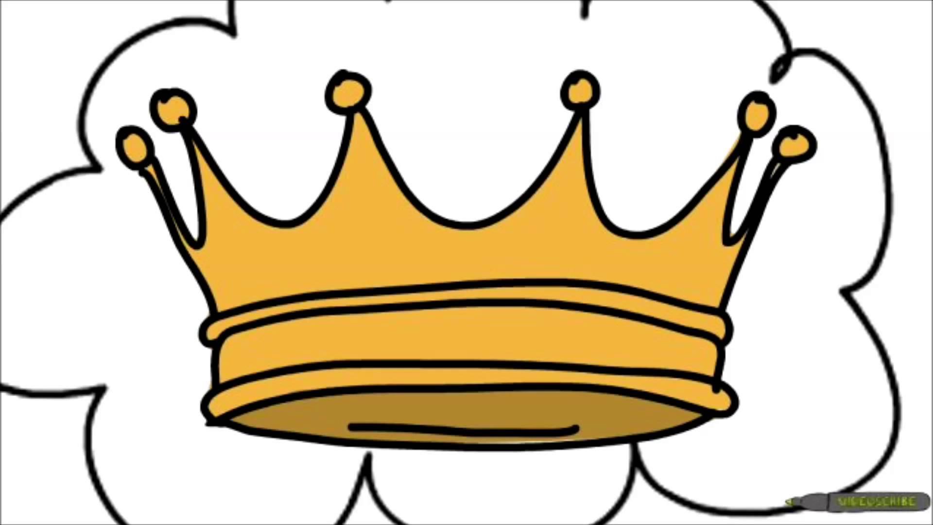 King Crown Drawing At Getdrawings