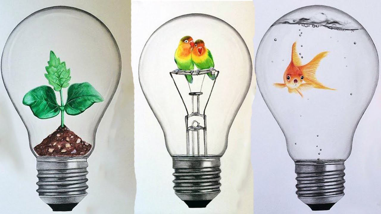 Coloring Light Bulbs