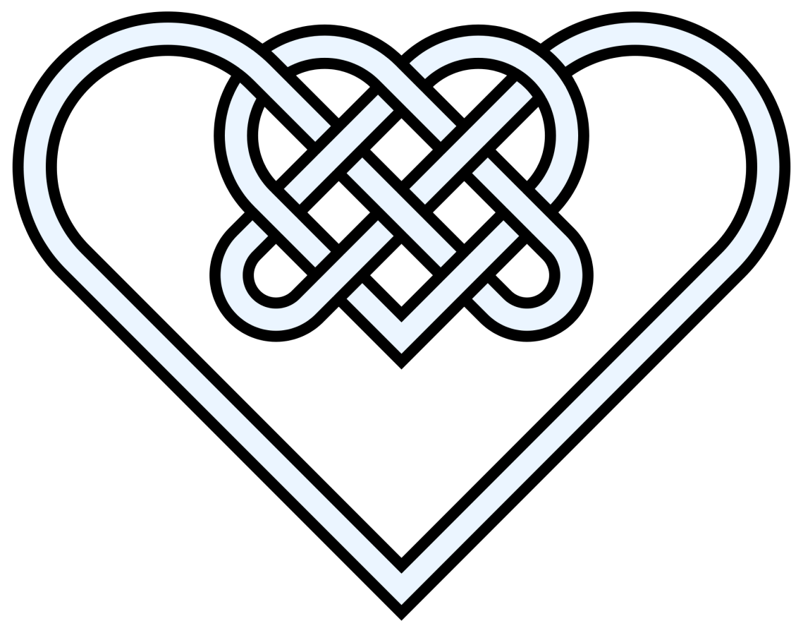Download Love Knot Drawing at GetDrawings | Free download