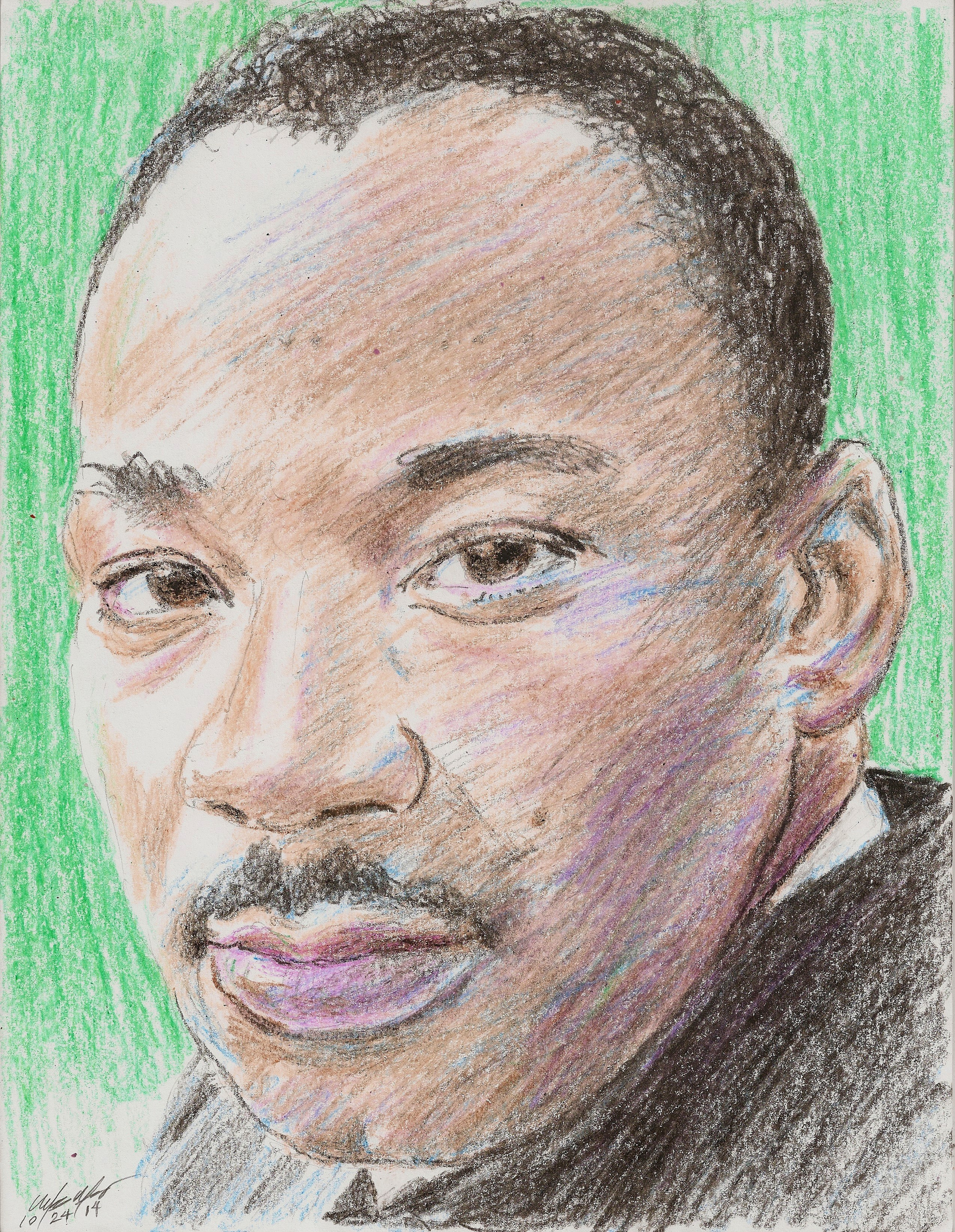 Martin Luther King Drawing At Getdrawings