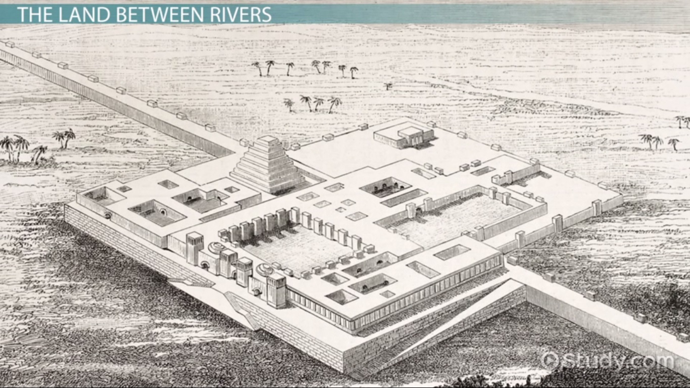 Mesopotamia Drawing At Getdrawings