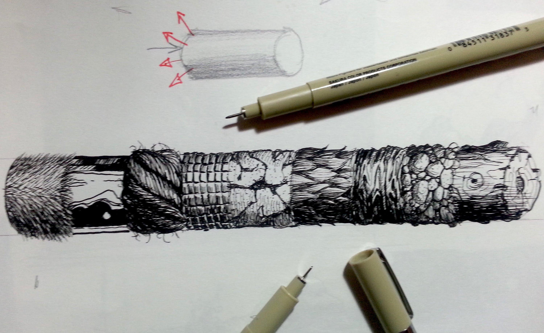 Pen And Ink Drawing Tutorials At Getdrawings