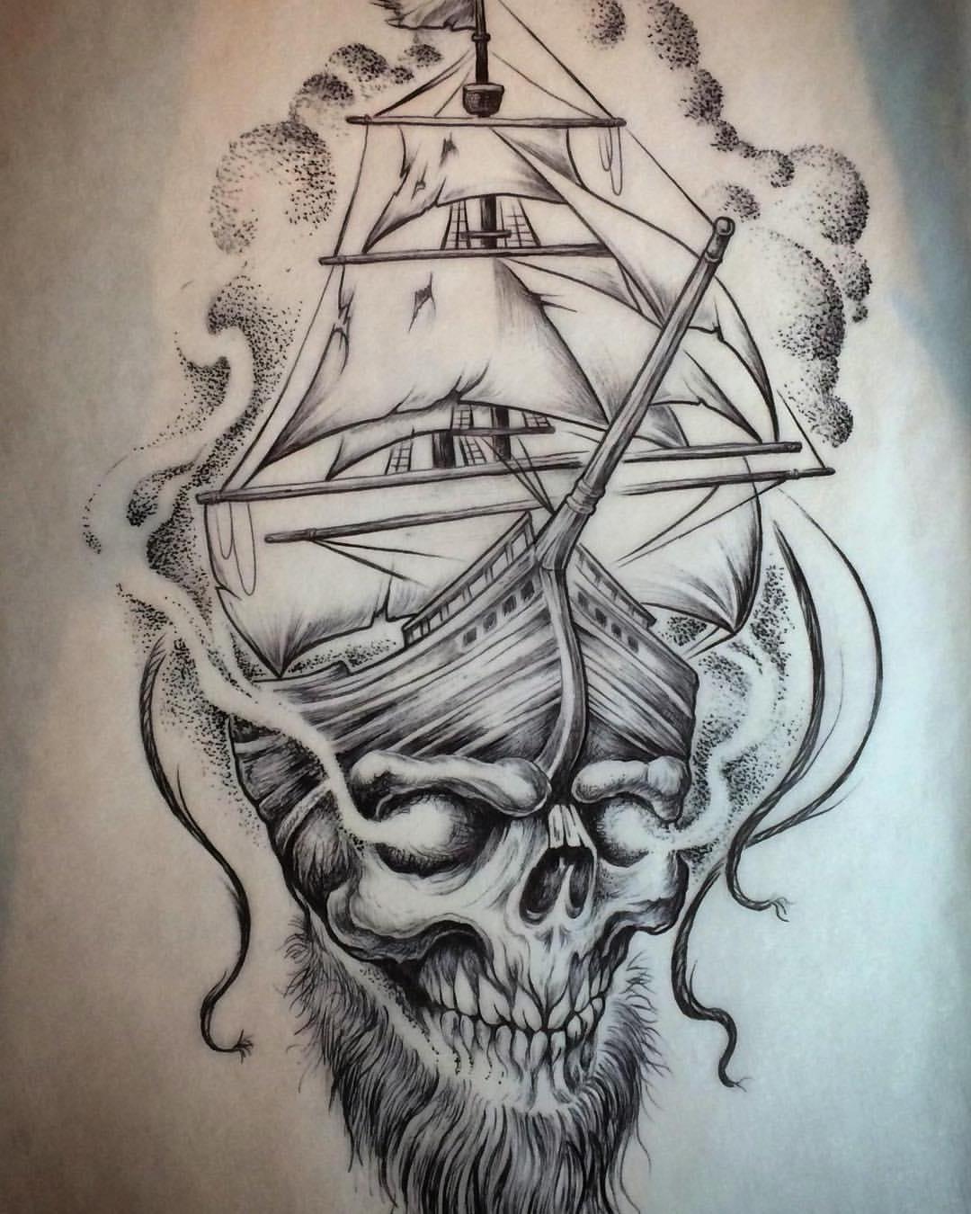 Pirates Ship Drawing At Getdrawings
