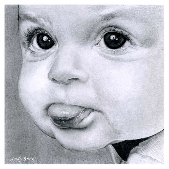Realistic Baby Drawing at GetDrawings | Free download