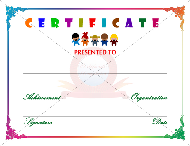 visual art award certificates - Art Award Certificate Template