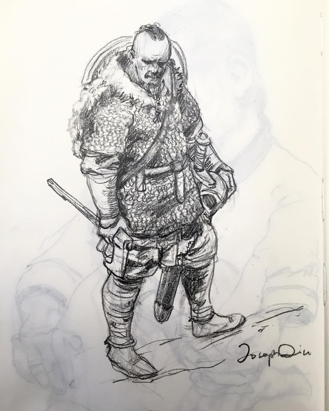 Vikings Drawing At Getdrawings