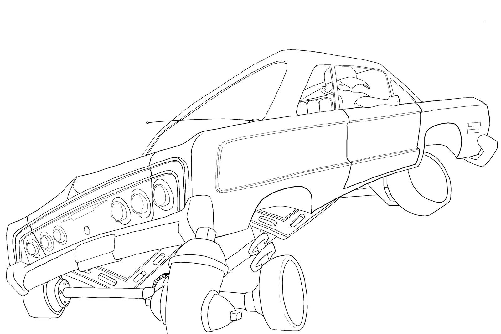 64 Impala Drawing At Getdrawings