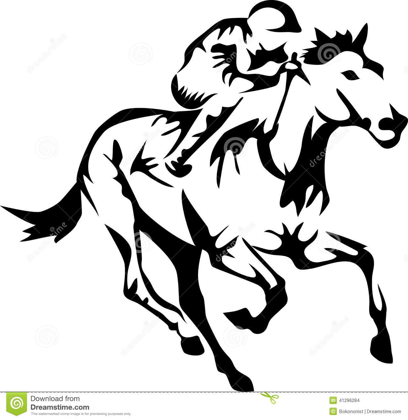 Abstract Horse Drawing At Getdrawings