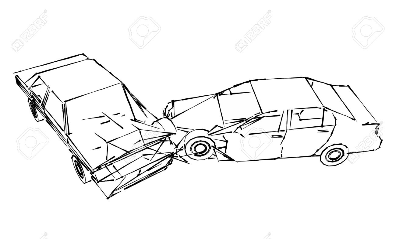 Accident Drawing At Getdrawings