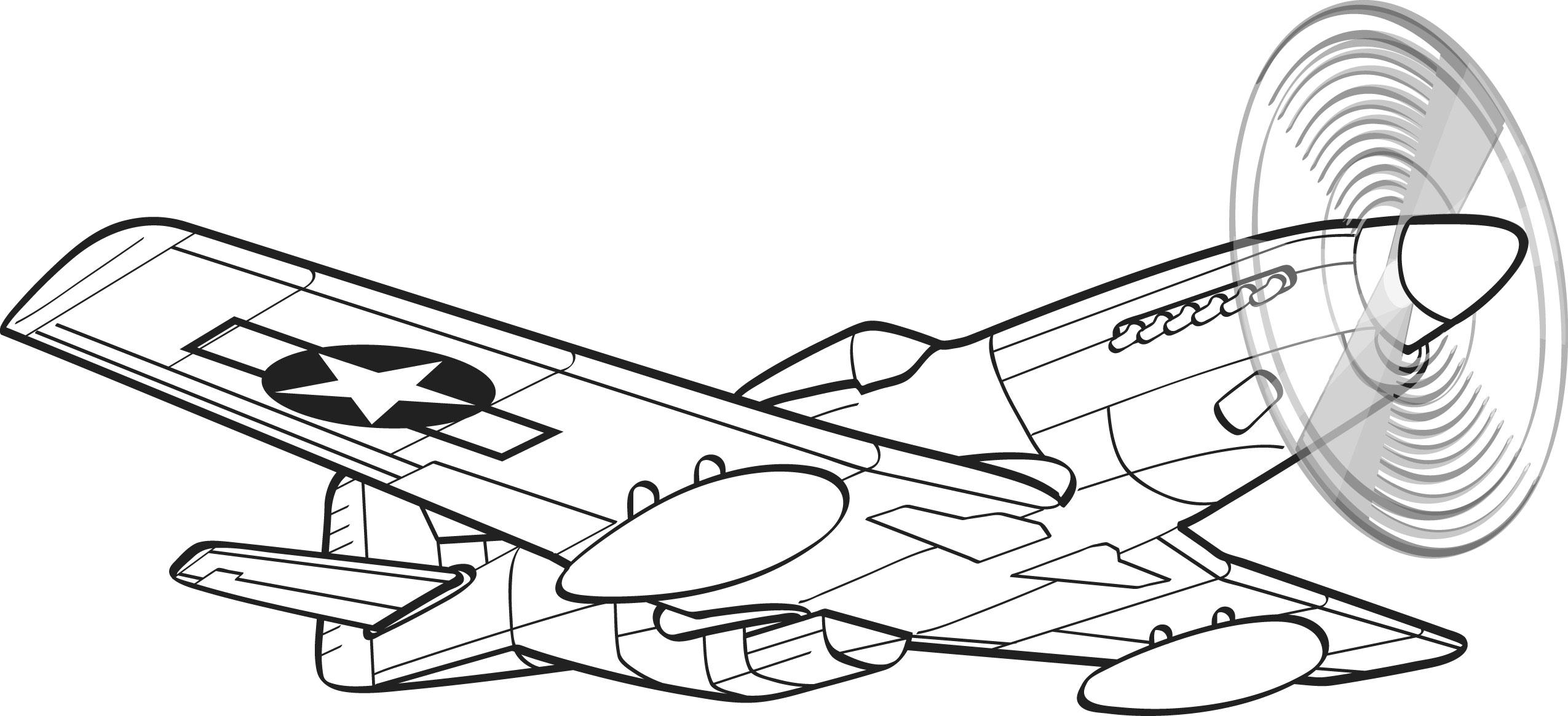 Aircraft Line Drawing At Getdrawings