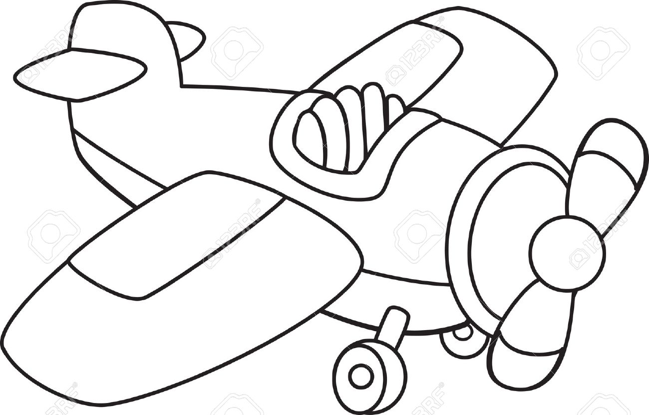 Airplane Drawing Images At Getdrawings