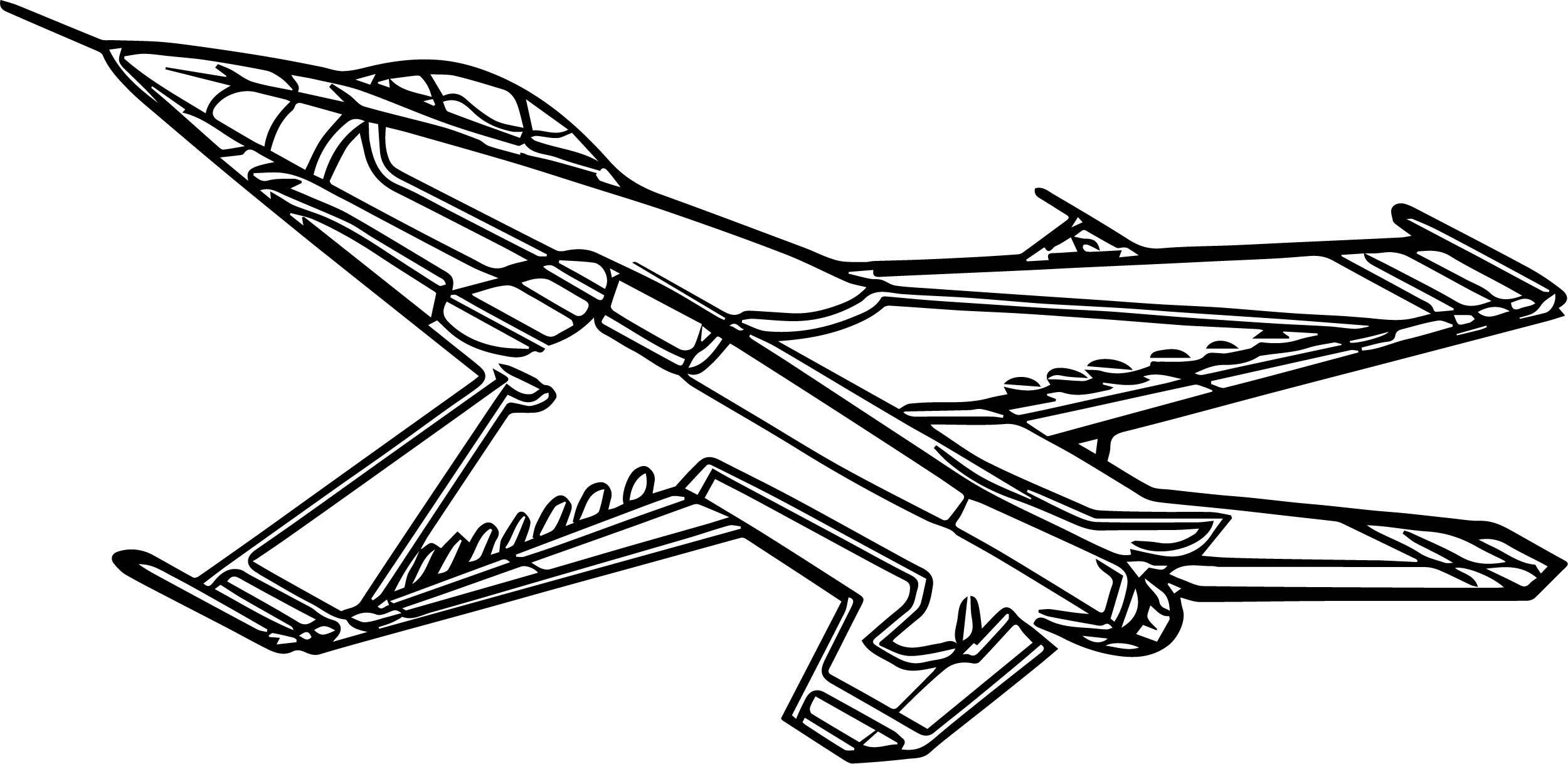 Airplane Outline Drawing At Getdrawings