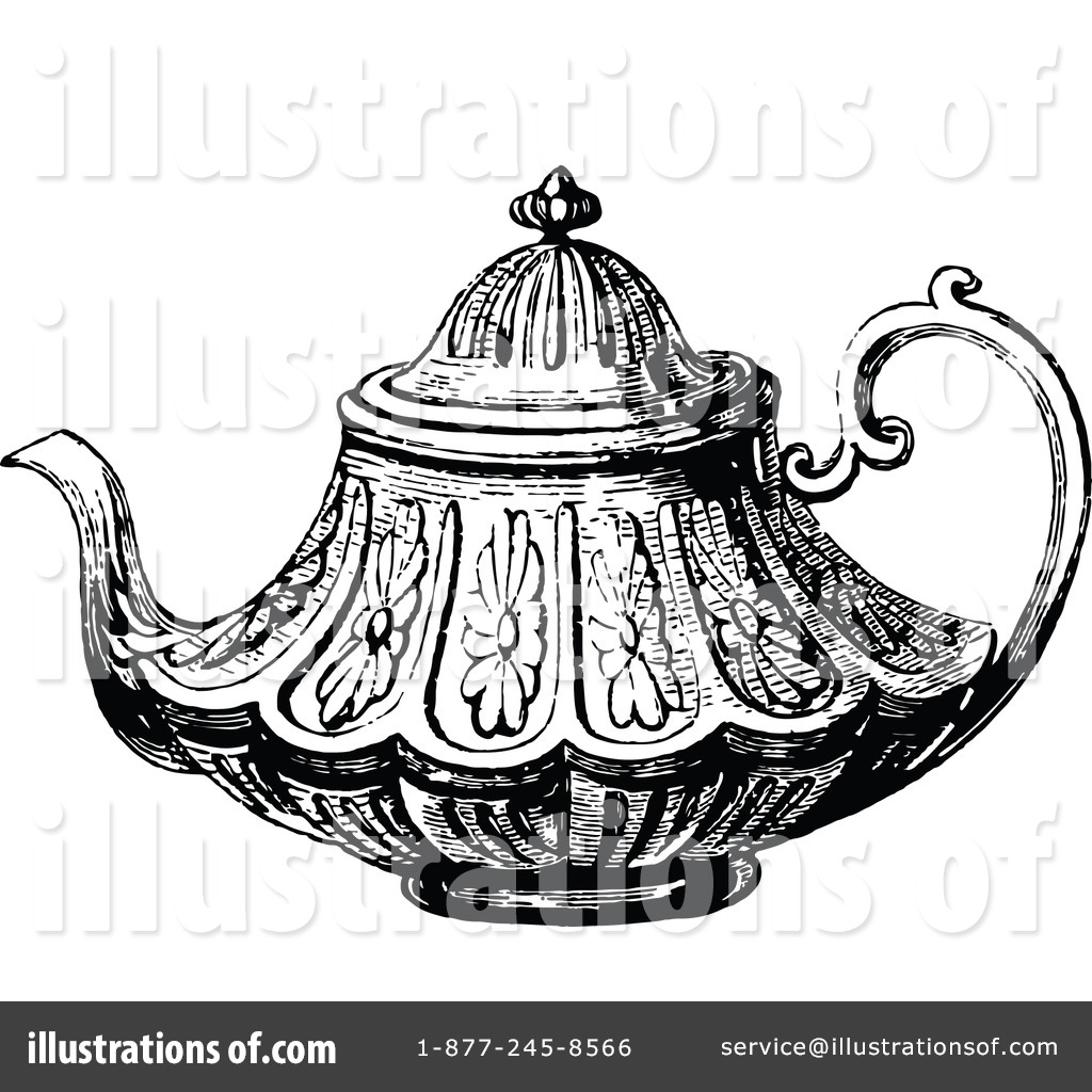 Alice In Wonderland Teapot Drawing At Getdrawings