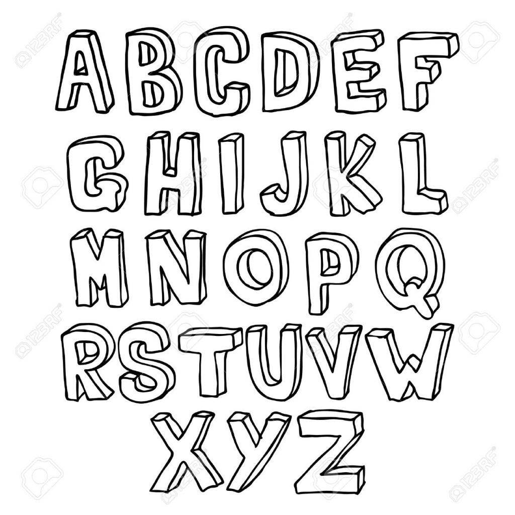 Alphabet Drawing At Getdrawings